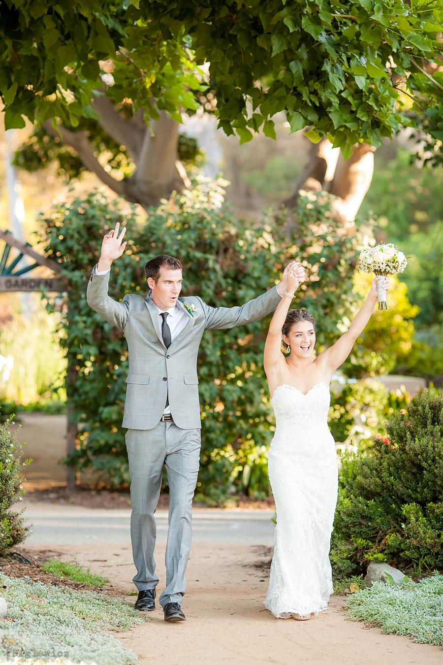 South Coast Botanic Gardens Wedding Palos Verdes Diana Pat Part 2 Figlewicz